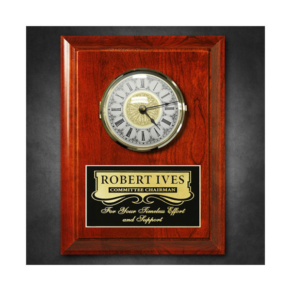 Plaque americana_wall_clock_77827P