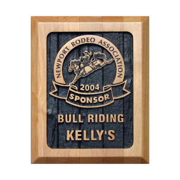 Wood bullriding