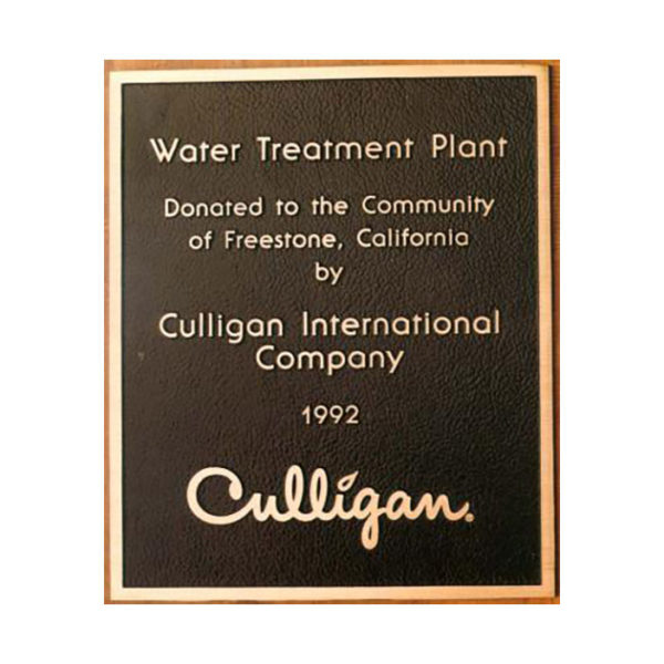 Bronze culligan